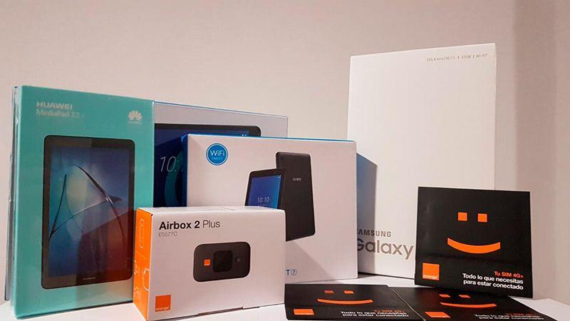 La Fundación Orange dona 350 tabletas al Gobierno regional para reducir la brecha digital durante la crisis sanitaria