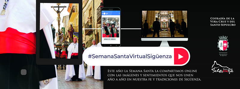 250.000 personas han seguido la Semana Santa Virtual seguntina en RRSS