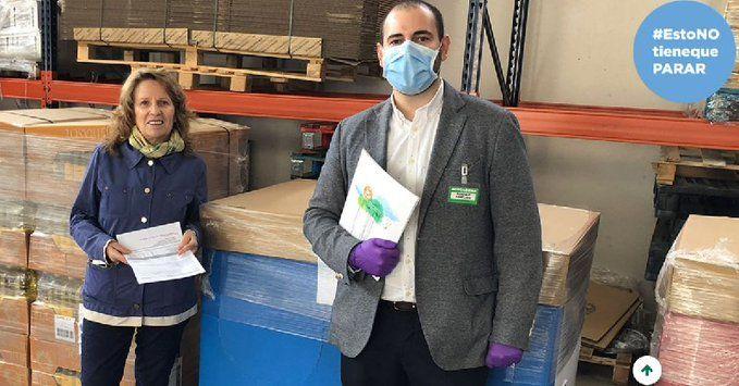 Mercadona dona al Banco de Alimentos de Guadalajara más de 3.000 kilos de alimentos de primera necesidad