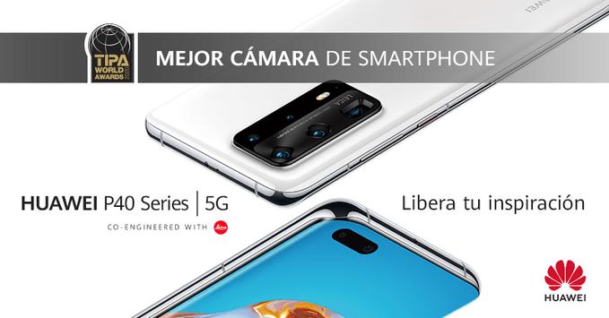 TIPA reconoce a la Serie P40 de Huawei como los smartphones con mejor cámara de 2020