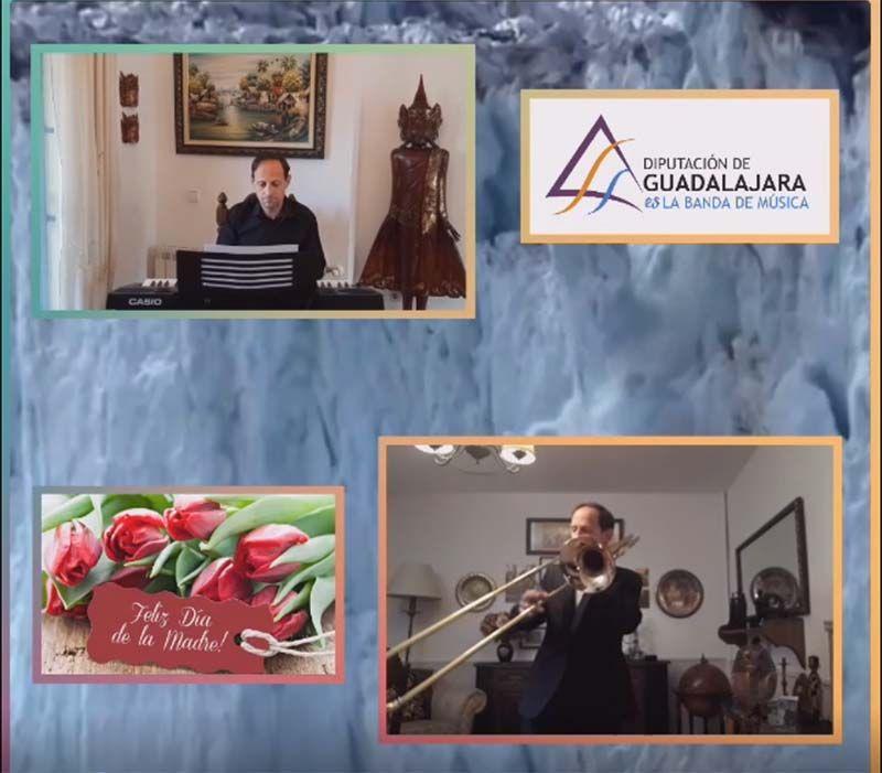 La Banda de Música de la Diputación de Guadalajara felicita a las madres