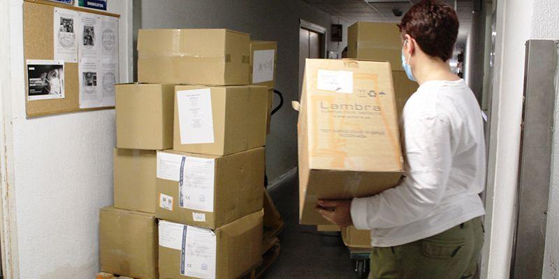 La GAI de Guadalajara recibe más de 43.000 elementos de protección en los envíos realizados por el Gobierno regional en la última semana