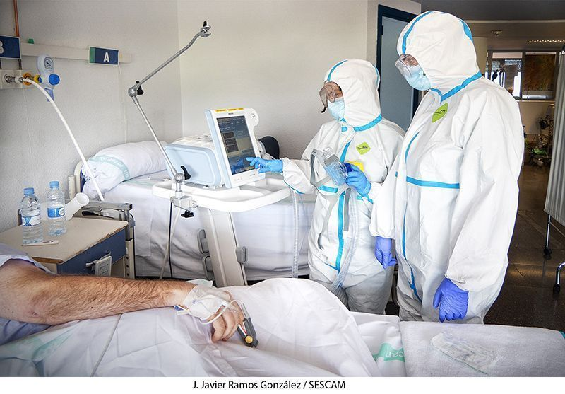 Domingo 14 de junio Un fallecido y fuerte incremento de casos confirmados por coronavirus en Guadalajara; Cuenca, libre de muertes y casos