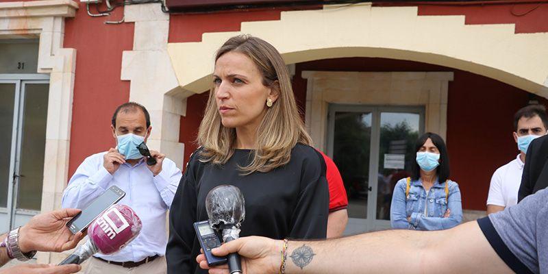 Merino reivindica los dos trenes diarios a Sigüenza y la Sierra Norte