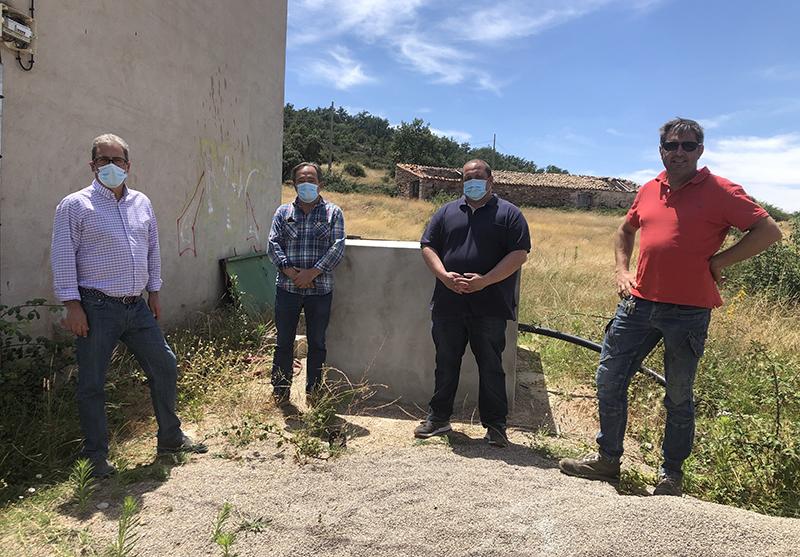 Cubillejo de la SieLa Junta realiza actuaciones en el sondeo de Cubillejo de la Sierra para mejorar y garantizar el abastecimiento de agua en esta EATIMrra 1