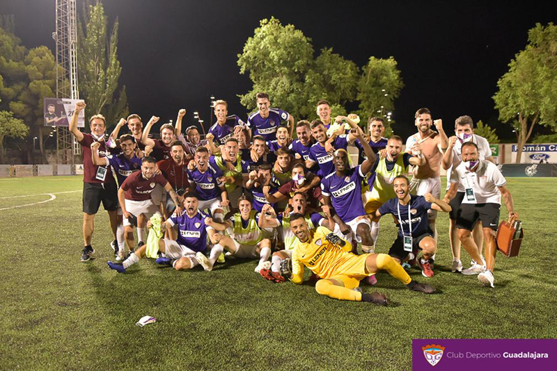 El Ayuntamiento de Guadalajara comparte con la afición la  gran alegría por la victoria del Deportivo, que le lleva a la final del ascenso a Segunda B