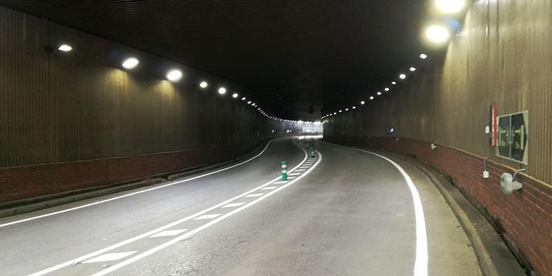 El túnel de Aguas Vivas quedará cerrado al tráfico esta madrugada para la realización de labores de mantenimiento y limpieza