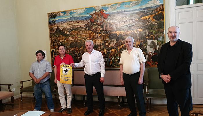 José Luis Vega se reúne con la Federación Española de Entidades Locales Menores para hablar de inversión