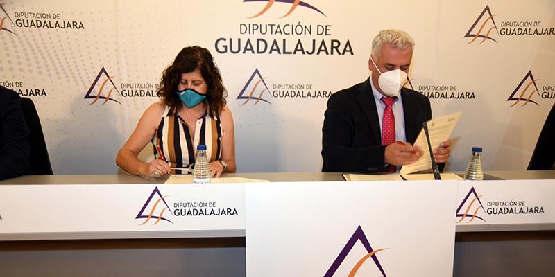 La Diputación y CEOE-CEPYME Guadalajara presentan el plan de apoyo al emprendimiento en 2020