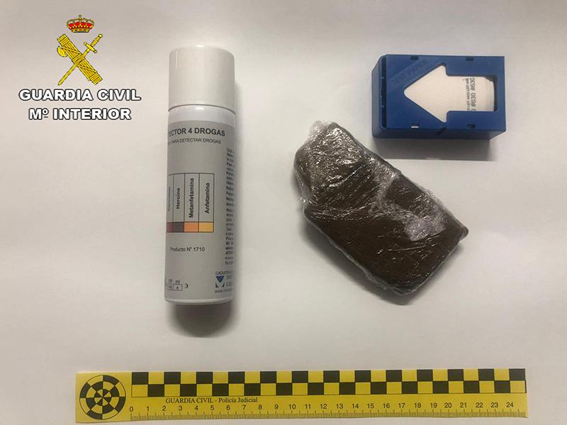 La Guardia Civil detiene a dos  personas por desobediencia y contra la salud pública  por trafico de drogas en Trijueque