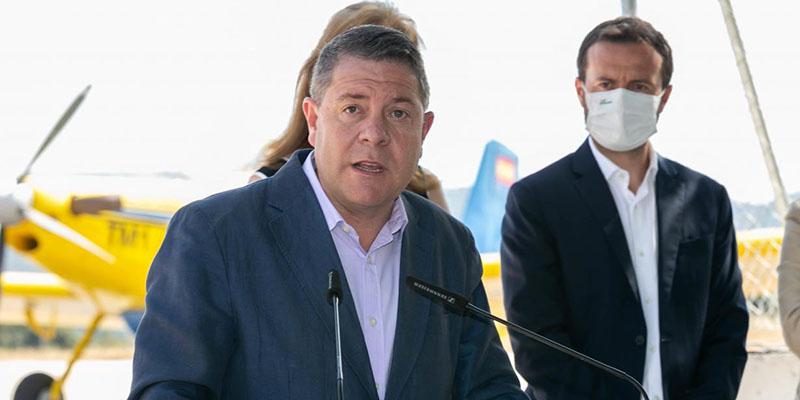 Page inaugura la remodelación de la carretera de Peralejo de las Truchas a Terzaga en Guadalajara