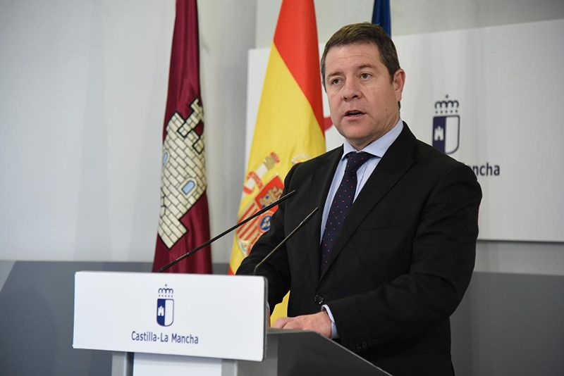Page recuerda a Núñez que el Pacto por la Recuperación de Castilla-La Mancha es el foro adecuado para que el PP colabore frente a la pandemia