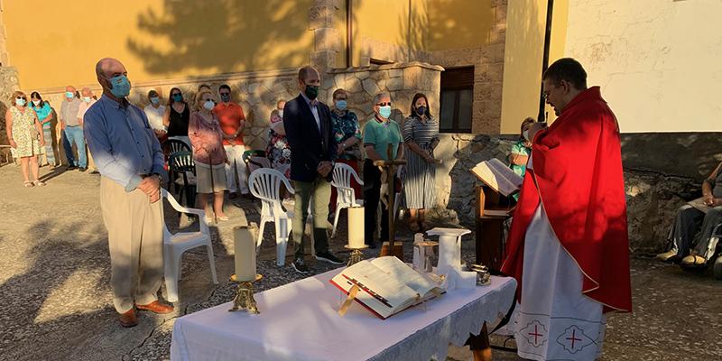 Celebración religiosa del Cristo de la Tribulación en Casasana