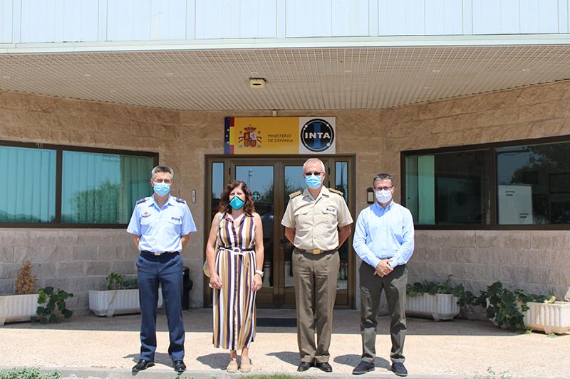 CEOE-Cepyme Guadalajara visita el CEAR del INTA