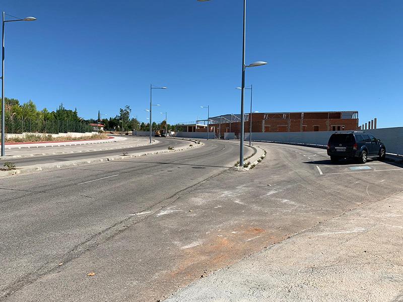 Comienza la construcción de una gran rotonda en Cabanillas que canalizará el tráfico en los accesos de un nuevo hipermercado