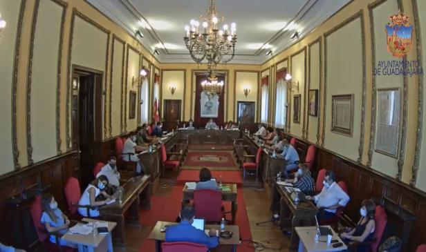 El Grupo Popular en el Ayuntamiento de Guadalajara consigue el apoyo del Pleno para defender la educación concertada, pese al voto en contra del PSOE