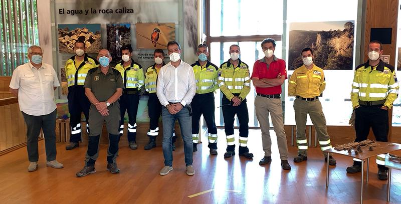 La Consejería de Desarrollo Sostenible inaugura una exposición para sensibilizar sobre cómo evitar los incendios forestales