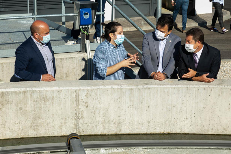 La Junta trabaja para garantizar agua de calidad y cantidad, así como su depuración para todos los ciudadanos de la región