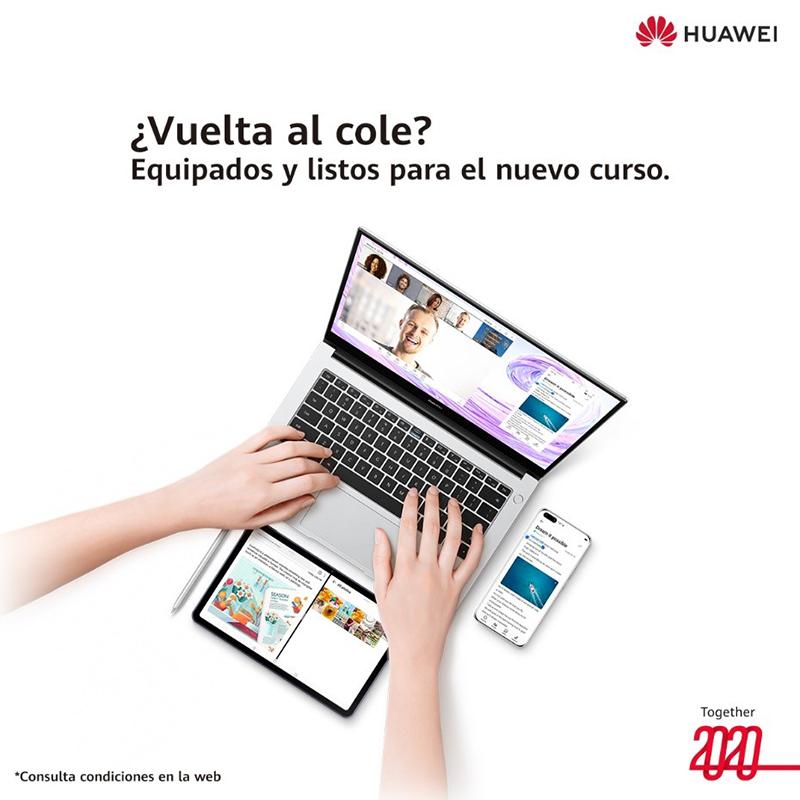 """Llega """"la vuelta al cole"""" de la mano de Huawei"""
