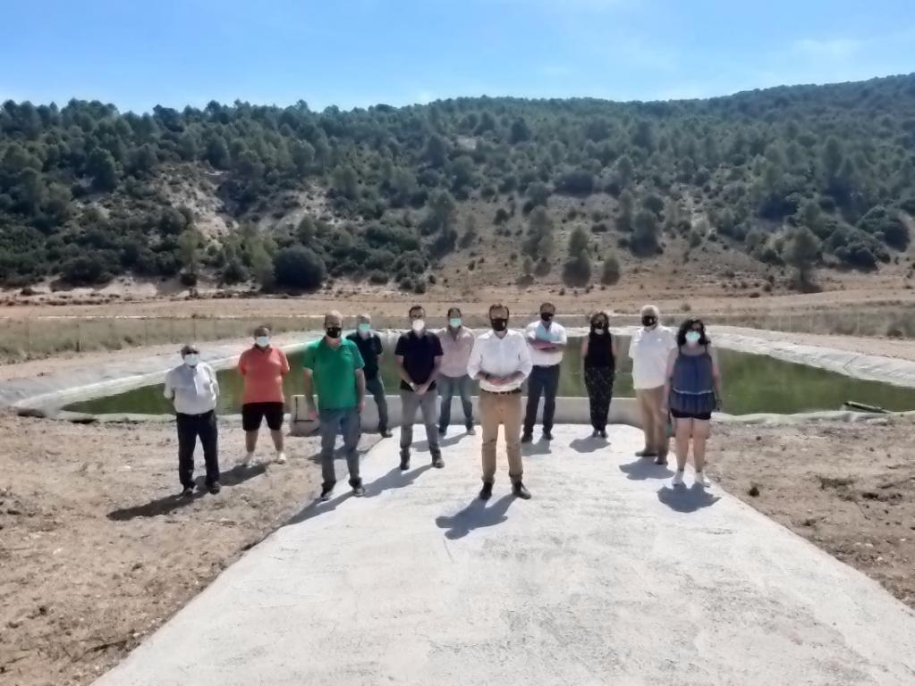 La Junta pone en marcha otra nueva infraestructura para la defensa contra incendios forestales en Fuentelencina