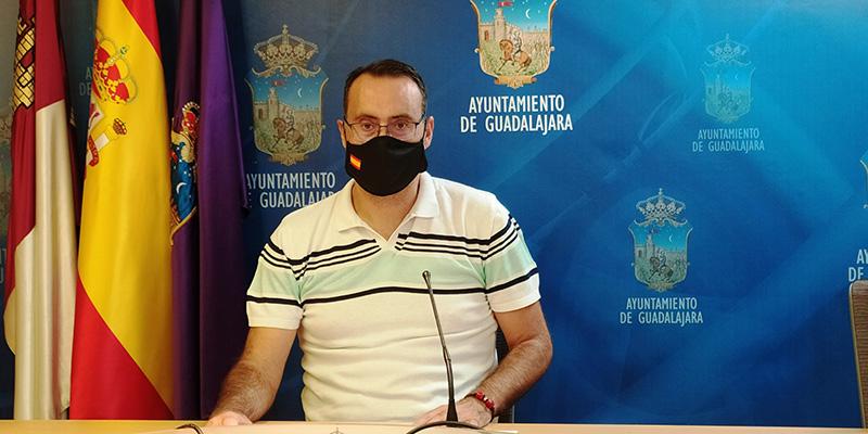"""Antonio de Miguel """"La ocupación es un delito que crece en Guadalajara y hay que impedirlo desde el primer minuto"""""""