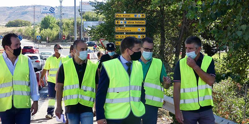 Comienzan las obras de conexión de la A2  con la Plaza de Europa, con un plazo de ejecución de doce semanas