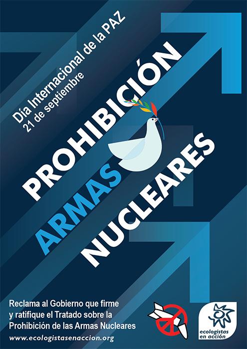 Ecologistas en Acción pide a varios ayuntamientos de Guadalajara que se sumen al llamamiento de la Campaña Internacional para Abolir las Armas Nucleares