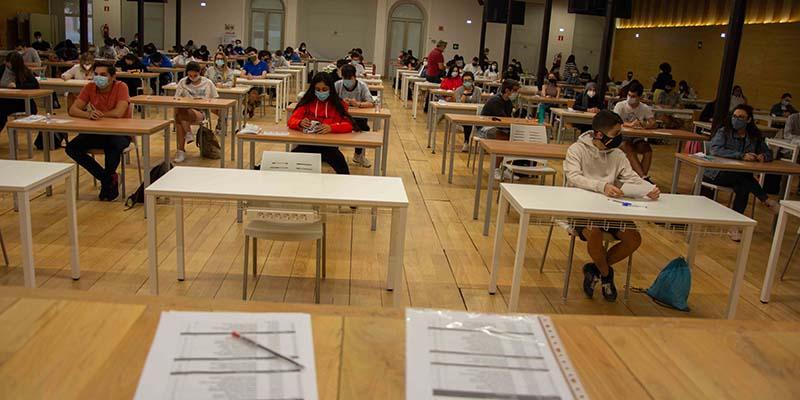 El 62,28 % del alumnado aprueba la EvAU extraordinaria en el distrito universitario de Castilla-La Mancha