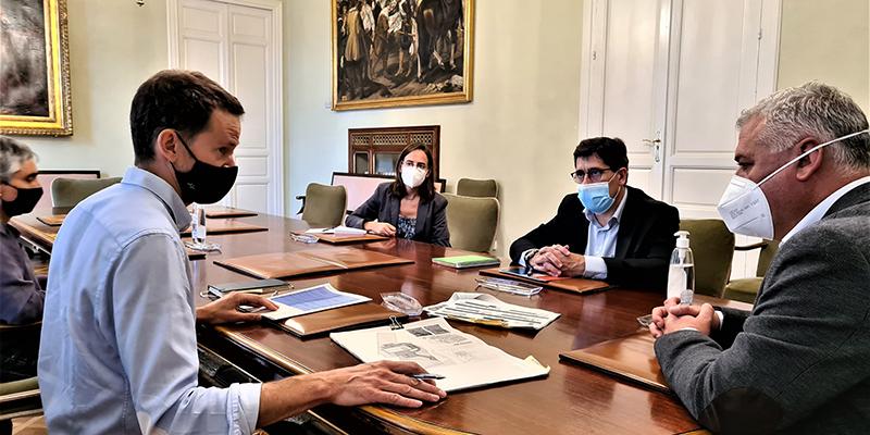 La Diputación de Guadalajara tendrá el proyecto actualizado del parque de bomberos de Sacedón en octubre