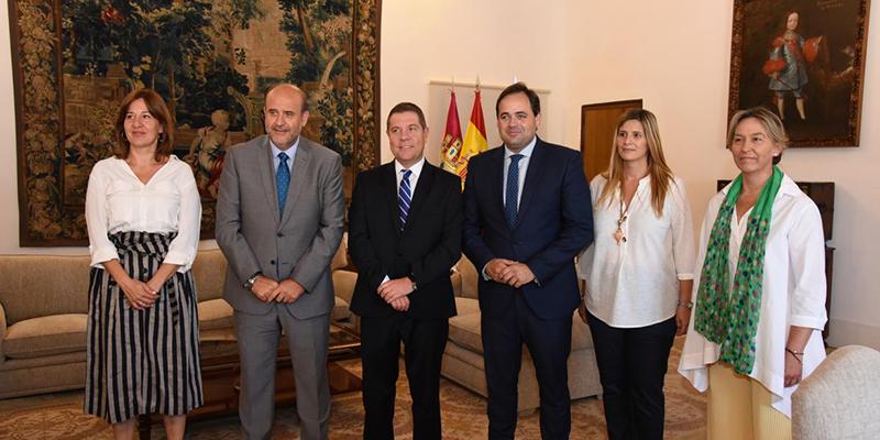 Page se reúne con Núñez en el marco de la nueva ronda de contactos que mantendrá con partidos políticos y agentes sociales