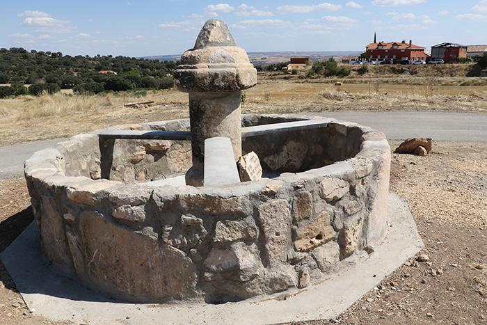 Recuperada la antigua fuente de Torrebeleña