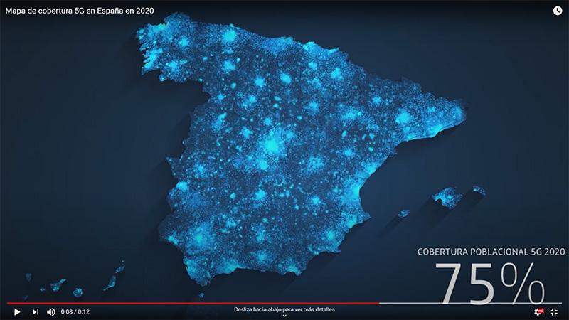 Telefónica enciende el 5g y el 75% de la población española tendrá cobertura este mismo año