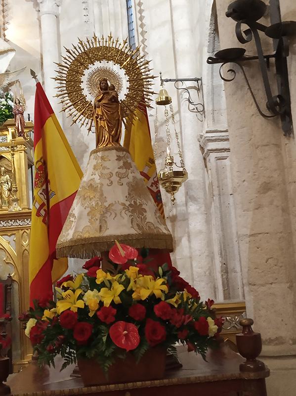 Brihuega celebra la festividad de la Virgen del Pilar