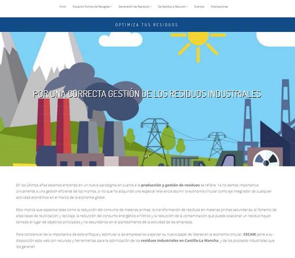 CECAM difunde buenas prácticas en materia de economía circular de las empresas de la región
