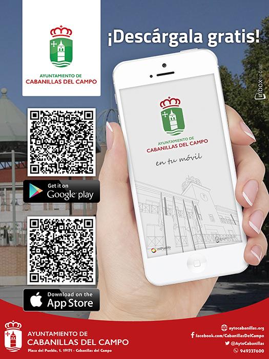 Completamente operativa la nueva app municipal de Cabanillas del Campo