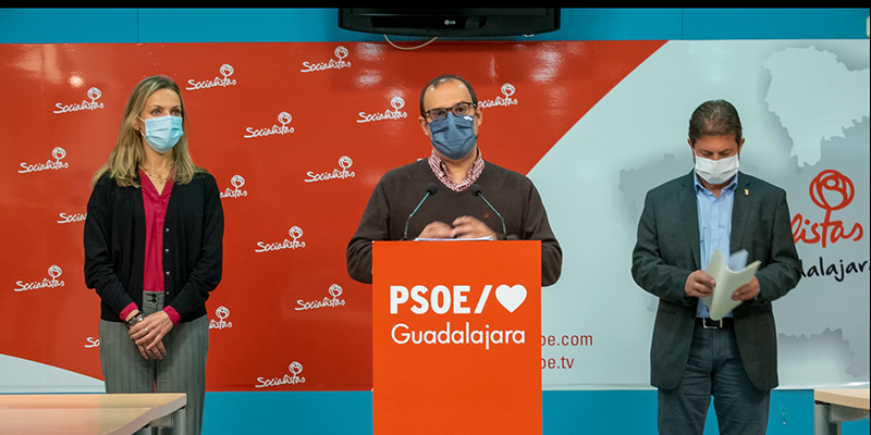 Diputados del PSOE por Guadalajara
