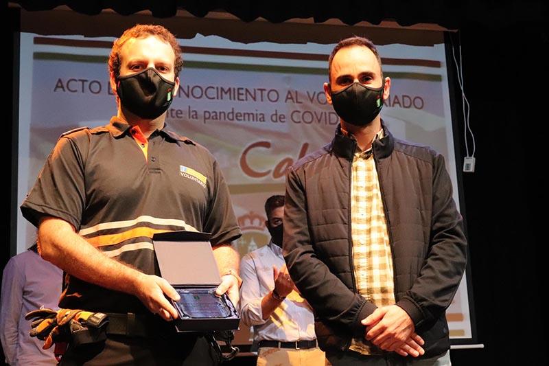 El Ayuntamiento de Cabanillas homenajea a los voluntarios que combatieron la pandemia en primavera