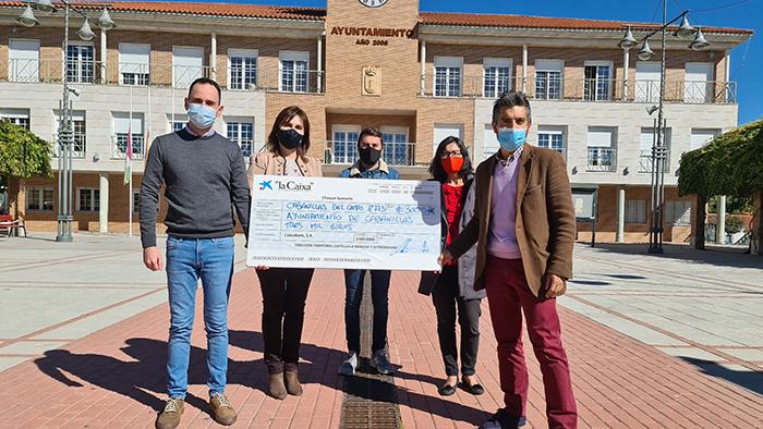 El Ayuntamiento de Cabanillas inicia un proyecto de formación y ayuda digital a familias vulnerables, con una subvención de La Caixa