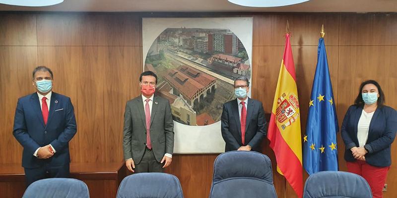 El Gobierno de Castilla-La Mancha traslada al Ejecutivo central la necesidad de sumar esfuerzos para que las telecomunicaciones lleguen a toda la región