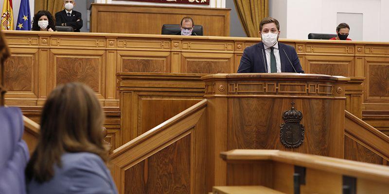 El Gobierno regional defiende en las Cortes autonómicas la Ley de Medidas Integrales para la convivencia y contra la ocupación ilegal de viviendas