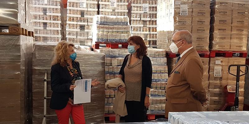 El Ministerio de Agricultura, Pesca y Alimentación distribuye más de 260.000 kilos de alimentos para personas desfavorecidas de Guadalajara