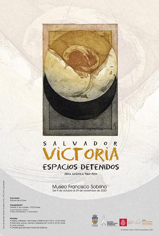 El Museo Sobrino acoge desde este viernes  la mejor exposición de obra gráfica del pintor de arte abstracto Salvador Victoria