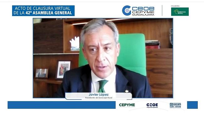 Eurocaja Rural reafirma su apoyo a los empresarios alcarreños y ofrece su pleno compromiso para reactivar la economía