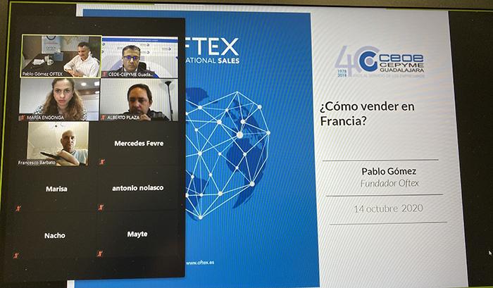Finaliza el ciclo de jornadas de comercio exterior de CEOE-Cepyme Guadalajara aprendiendo a vender en Francia
