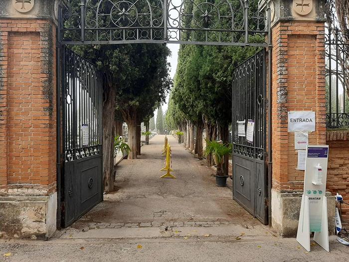 Guadalajara ya tiene listo el dispositivo para que las visitas al cementerio por Todos los Santos se  desarrollen con la mayor seguridad frente al COVID
