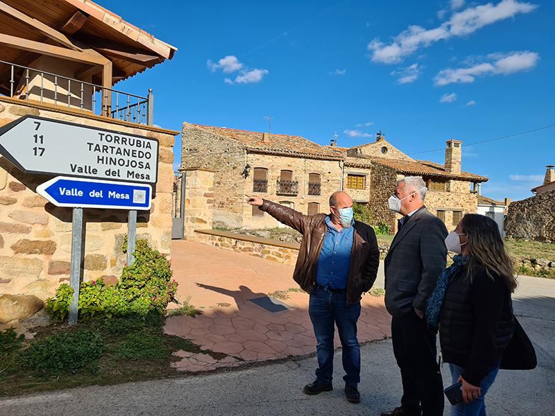 La Diputación de Guadalajara completa su inversión de 2 millones de euros en carreteras del Señorío de Molina
