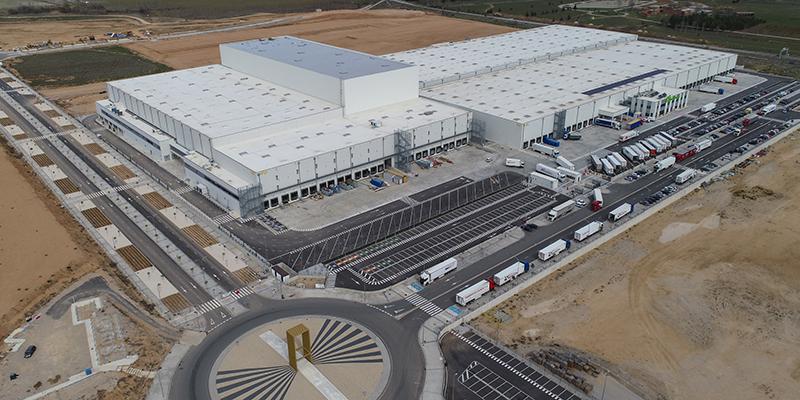 Montepino entrega la obra completa del nuevo y puntero Centro de Operaciones Logísticas de Luís Simões en Guadalajara
