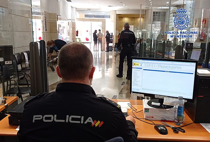Oficina DNI Policía Nacional