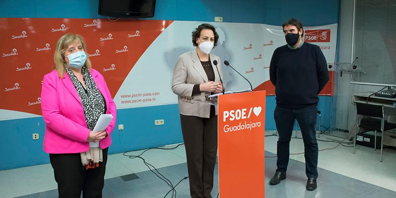 Parlamentarios socialistas por Guadalajara