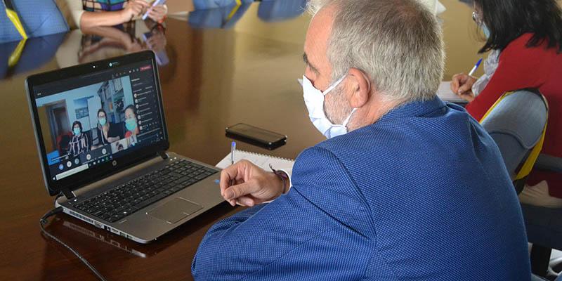 Sanidad y Educación analizan con los equipos de los centros educativos de Guadalajara la evolución del curso y la aplicación del protocolo COVID